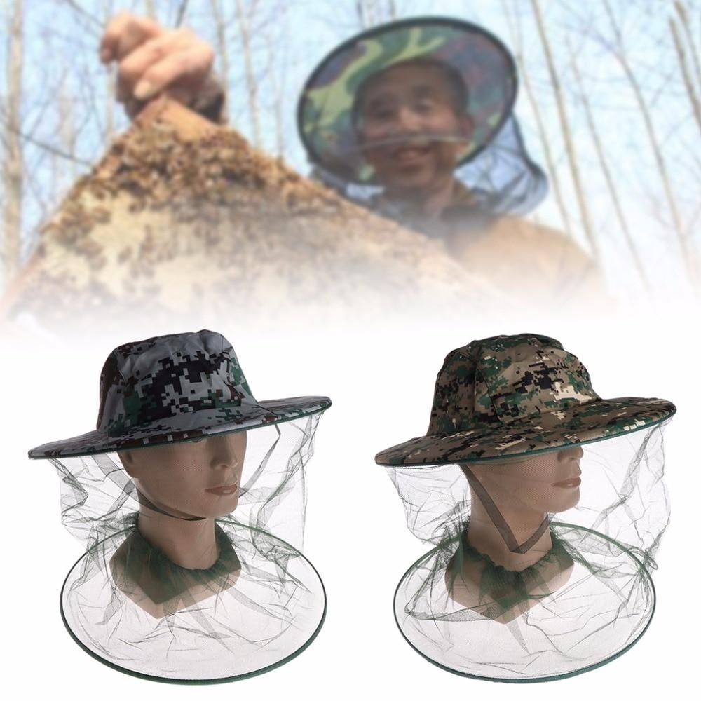 Garden Supplies Lovely 1pc Bee Hat Beekeeping Mesh Net Head Face Protector Cap Fly Mosquito Outdoor Camping Fishing Hat Beekeeping Supplies White C42 Beekeeping Tools