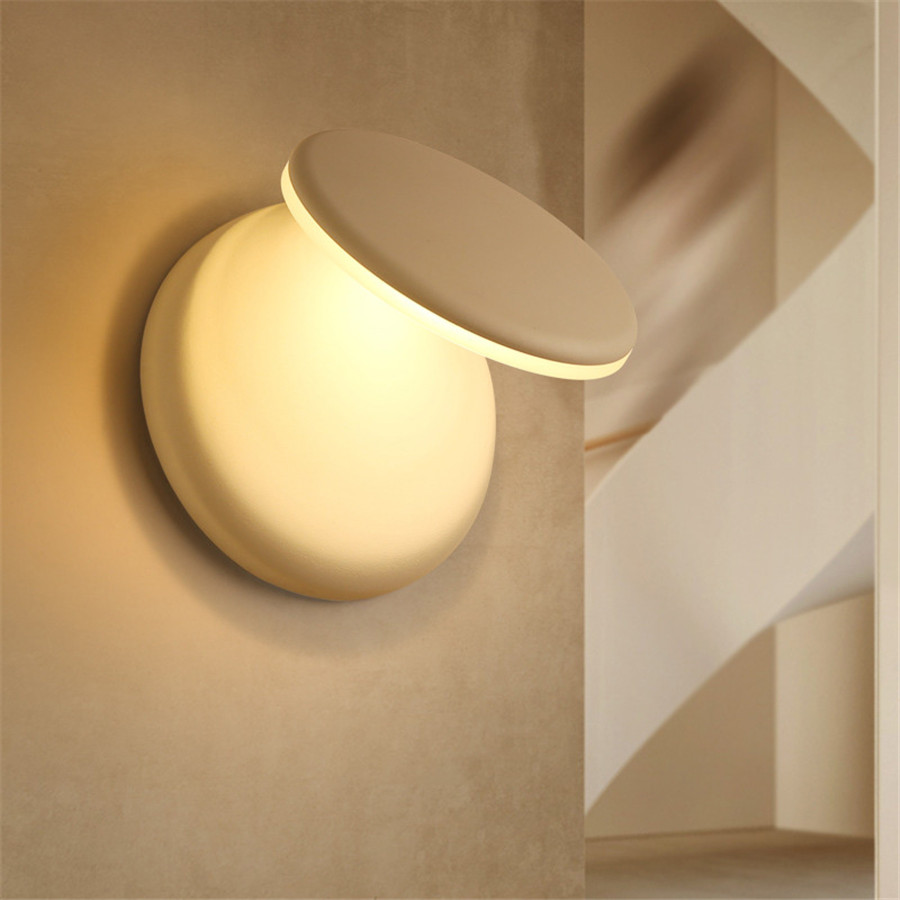 Thrisdar 360 Degree Rotation LED Wall Light Acrylic Adjustable Bedroom Bedside LED Wall Lamps 3000K Aisle Corridor Wall LightThrisdar 360 Degree Rotation LED Wall Light Acrylic Adjustable Bedroom Bedside LED Wall Lamps 3000K Aisle Corridor Wall Light