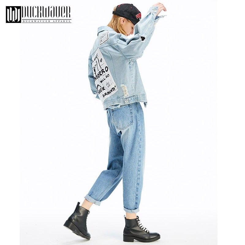 Lâche Manches À Féminins En Jeans Outwear Bleu Femmes Longues Vintage Filles Automne Jean Veste Base De Royal Et Manteaux A3636 Décontracté D'hiver Manteau vvOP0q