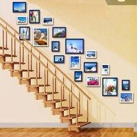 Porta Retrato Moldura Photo Frame Stairs Wall Picture Frames Family Photo Frame Wood Cadre Photo 19