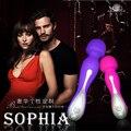 Afra Sophia varinha mágica AV fêmea massagem vara masturbação feminina clitóris vibrador brinquedos sexuais para a mulher