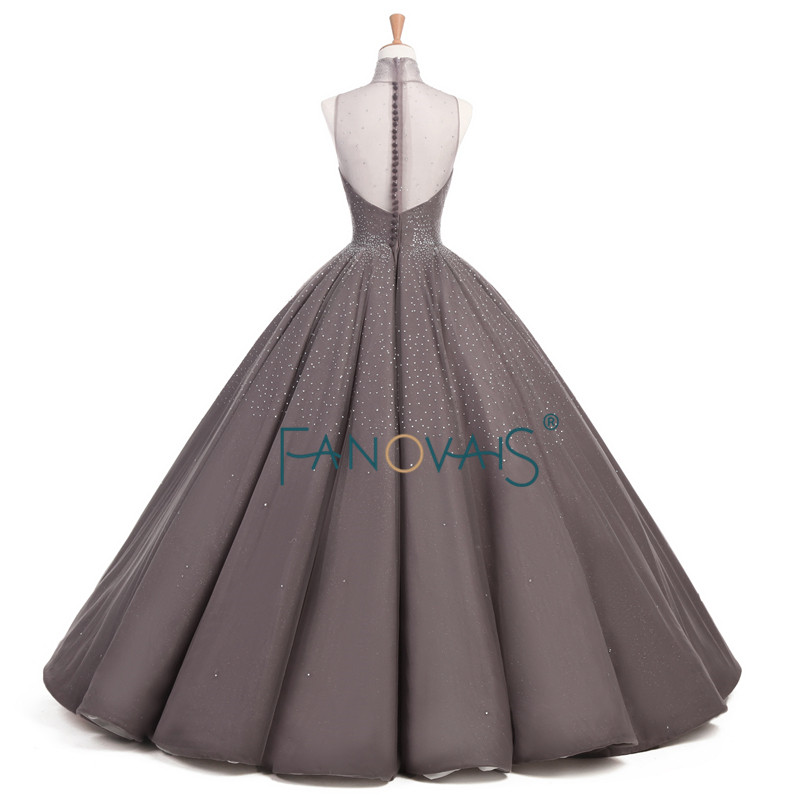 Luksuzne starinske večernje haljine Formalna večernja haljina Duga - Haljina za posebne prigode - Foto 2