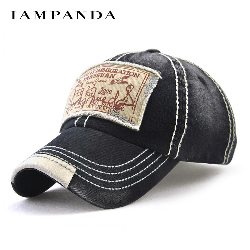 IAMPANDA 2017 new branded cotton Patchwork snapback baseball caps hats for women hip hop cap men dad hat bone wholesale brand nuzada winter autumn thickening suede fabric men women baseball caps high grade cotton hip hop cap hats bone snapback