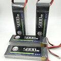 MOS 2 S bateria lipo 7.4 v 5000 mAh 30C Para rc helicopter rc car barco rc quadcopter Li-polímero battey