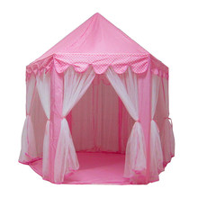 Portable Children's Tent Toy Ball Pool Princess Girl Castle Game House Children's Small House Foldable Game Tent Baby Beach Tent(China)