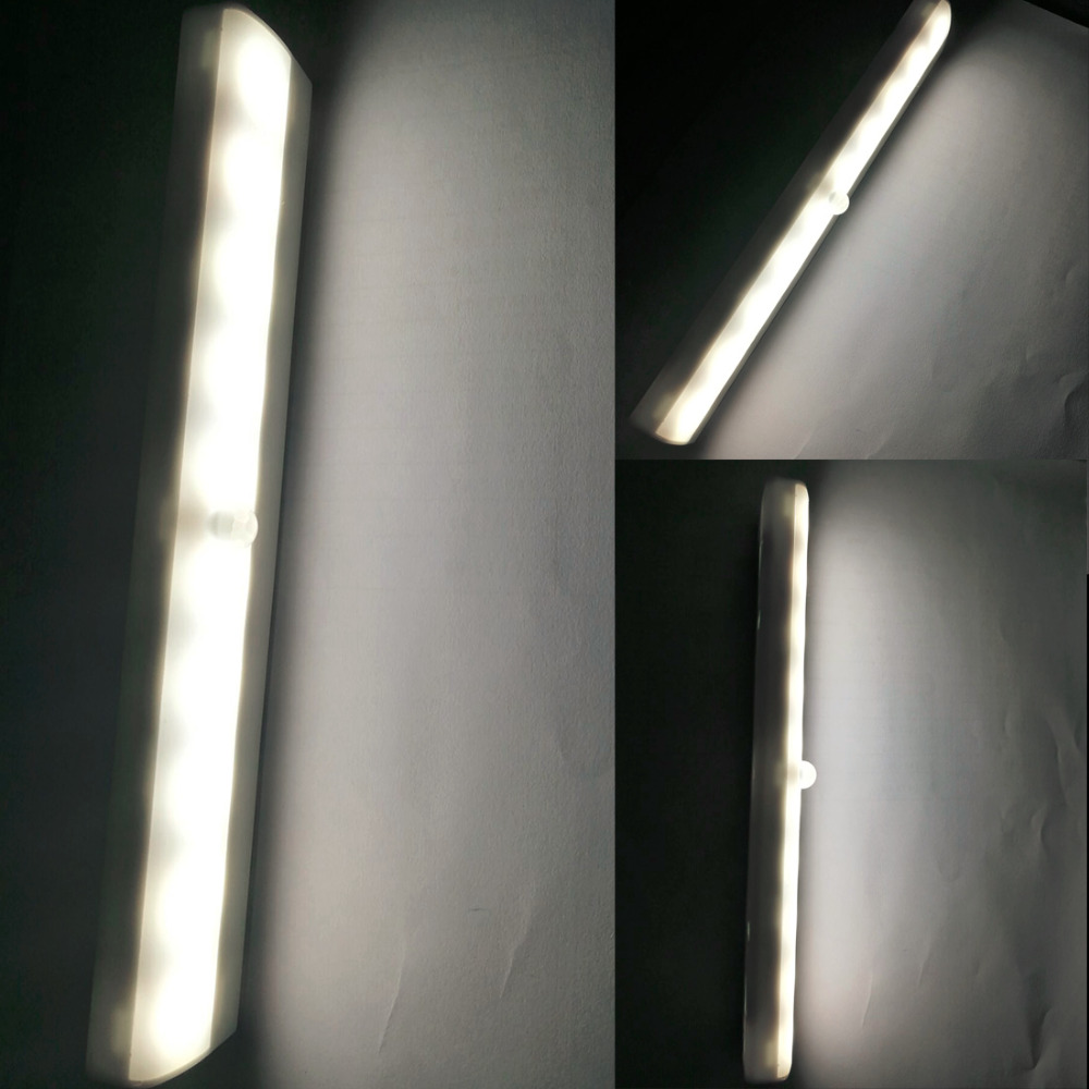 1pc LED Cabinet Closet Light PIR Motion Sensor Lamp