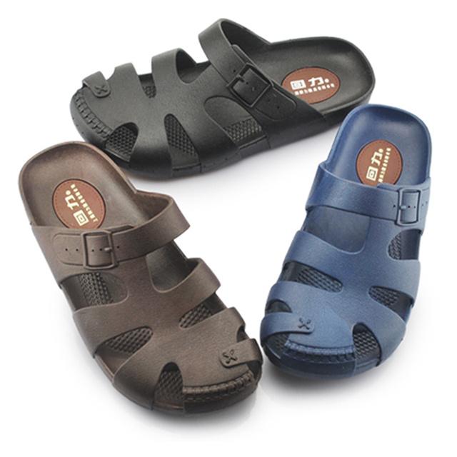 La Moda de los hombres Zapatillas Sandalias Del Agujero Mulas y Zuecos Jardín Zapatos para Hombres Zapatos Transpirables Playa Suela Gruesa No Zapatillas antideslizantes