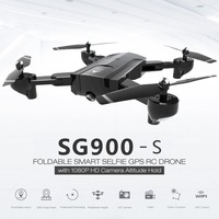 SG900 S 2.4G RC Drone Foldable Selfie Smart GPS FPV Quadcopter with 1080P HD Camera Altitude Hold Follow Me One Key Return