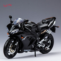 MAISTO 1/12 Scale Diecast Motorcycle Model Toys Black YAMAHA YZF-R1 Racing Motorbike Model Toys For   Children Gifts Collections