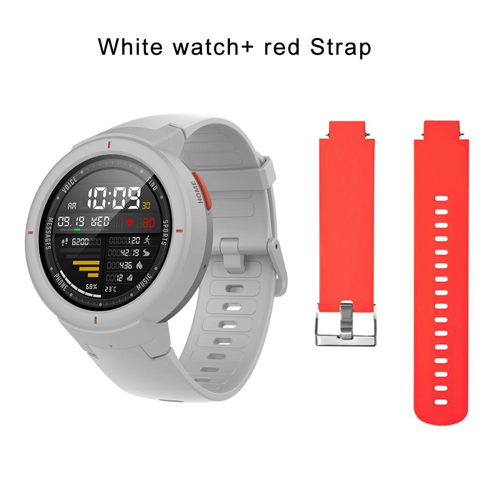 white N red strap