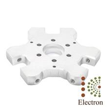 Aluminum Alloy Metal Fisheye Effector M4 Screw Hole 4mm for Delta Kossel 3D Printer