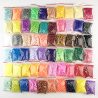 ミニ 2.6 浜ビーズ 10-80 色 PUPUKOU ビーズ教育 perler おもちゃヒューズビーズジグソーパズル 3D 子供のための