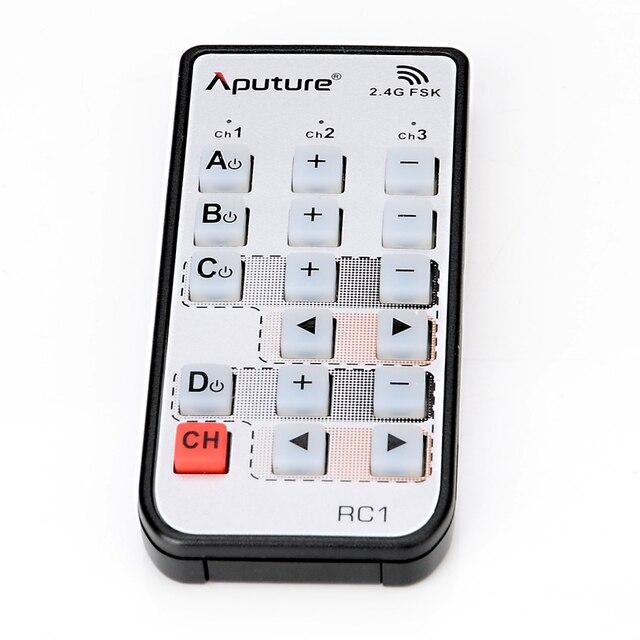 Aputure Camera Từ Xa Không Dây Cho Đèn Bão, LS C120, LS 1 Phòng Thu, đèn LED Video Điều Khiển Từ Xa (Chỉ Có Từ Xa)