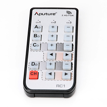 Aputure camera wireless remote for Light storm, LS C120, LS 1 Studio, LED Video Light series remote control (only the remote)