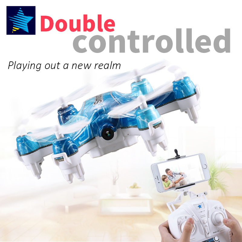 Cheerson FPV CX37-TX Smart-H 4Ch 6axis mini Drone With Camera HD 2MP Phone WIFI control RC helicopter height hold Quadcopter toy cheerson cx 17 wifi rc drone hd camera video remote control kids toys 2 4g 6axis rc quadcopter helicopter aircraft plane toy