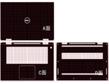 """Laptop Carbon faser Vinyl Haut Aufkleber Abdeckung Für Neue Dell XPS 15 9575 15,6"""""""