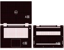 """محمول الكربون الألياف الفينيل غطاء عليه ملصق ل جديد ديل XPS 15 9575 15.6"""""""