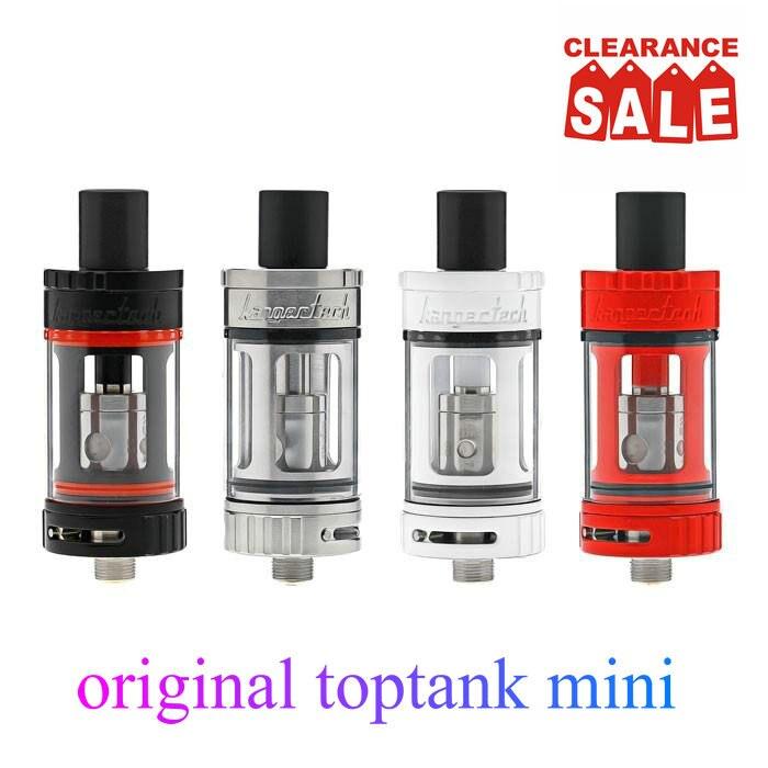 Kanger vaper Obertank Mini Elektronische Zigarette verdampfer 4 ML Top Füllen zigarette electronique fit e sigaret topbox mini