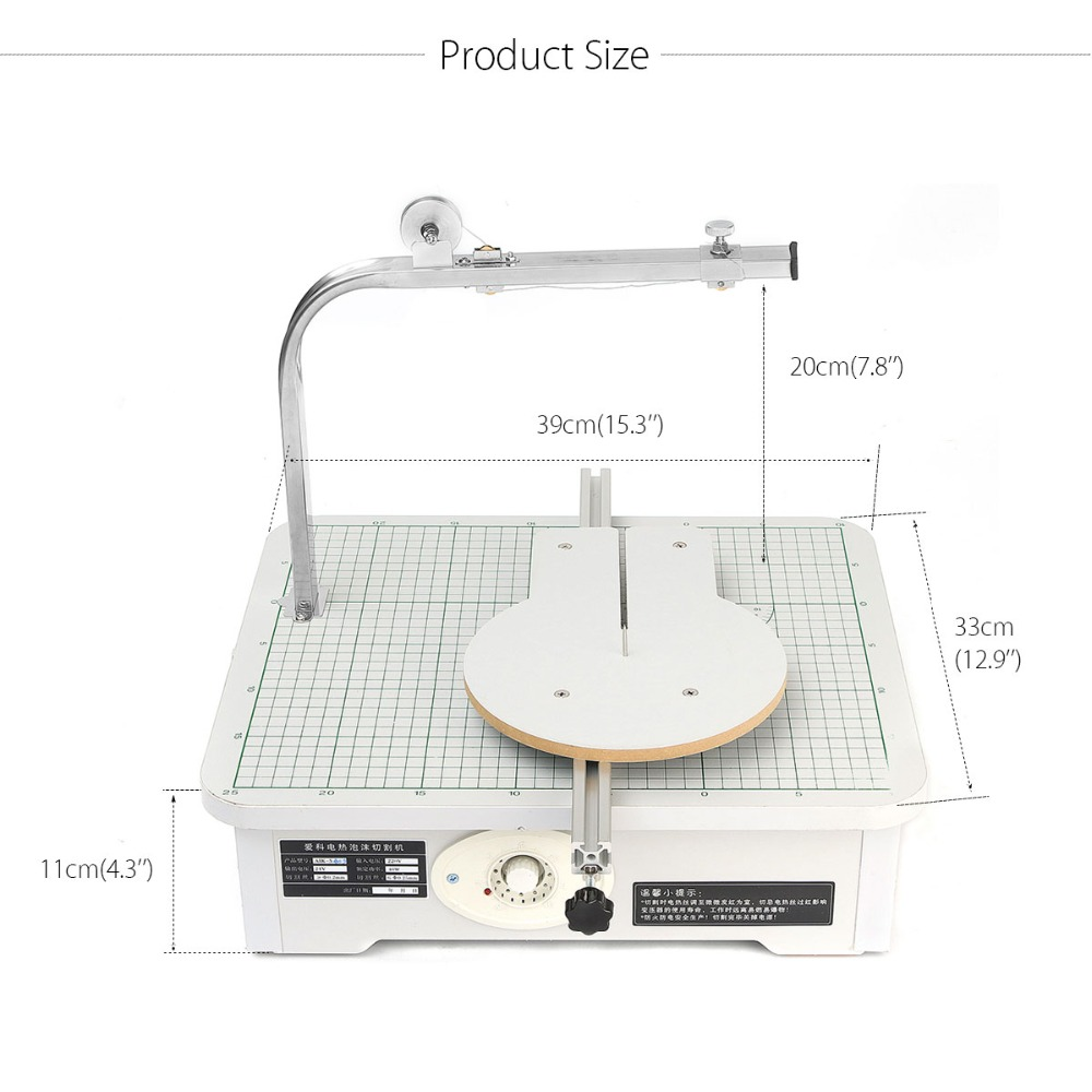 New High Quality CUTS FOAM KT 220V S403 Workbench Tool Stand Foam Cutter Cutting WAX Foam, Sponge, EPE craft hot knife styrofoam cutter 1pc 10cm pen cuts foam kt board wax cutting machine electronic voltage transformer adaptor