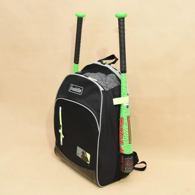 Baseball Bat Bag Outdoor Baseball T-Ball Softball Equipment Backpack Portable  Sport Bags Suitable For Bat Helmet Glove