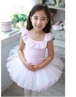 Ballet Dance Costumes Children Sleeveless Sweet Pink Princess Style Summer Skirt Cheap Professional Ballet Tutu