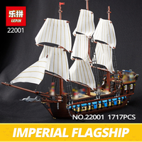 Lepin 22001 Pirates Series The Imperial War Ship Model Building Kits Blocks Bricks Toys Gifts For