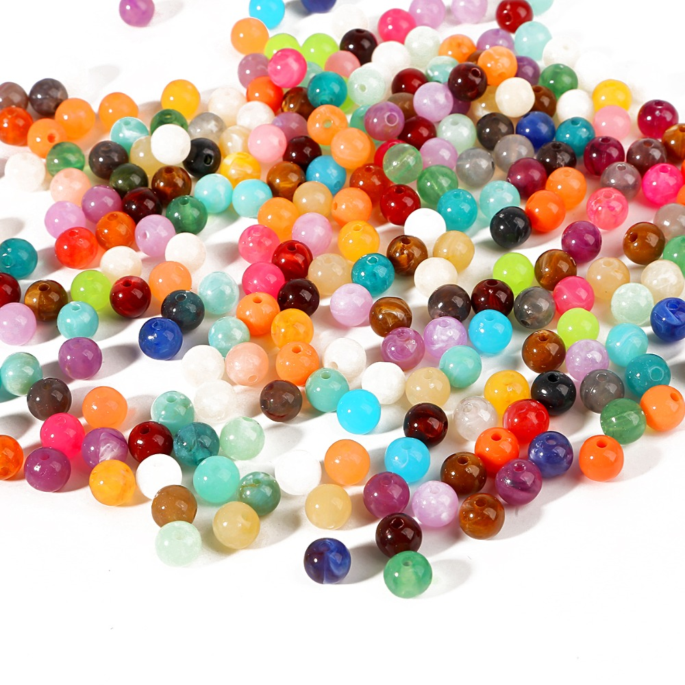 2mm 3mm 4mm New Fashion Assorted Color Iron Round Beads Jewelry Finding Hot Sale