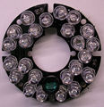 Infrared 24 x 5 IR LED  board for CCTV cameras night vision (diameter 44mm)