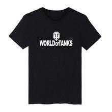 World of Tanks 4XL Famous Brand Printed T Shirt Men and Short Sleeve Funny T-shirt in RPG TShirt Tee Shirt Long XXS