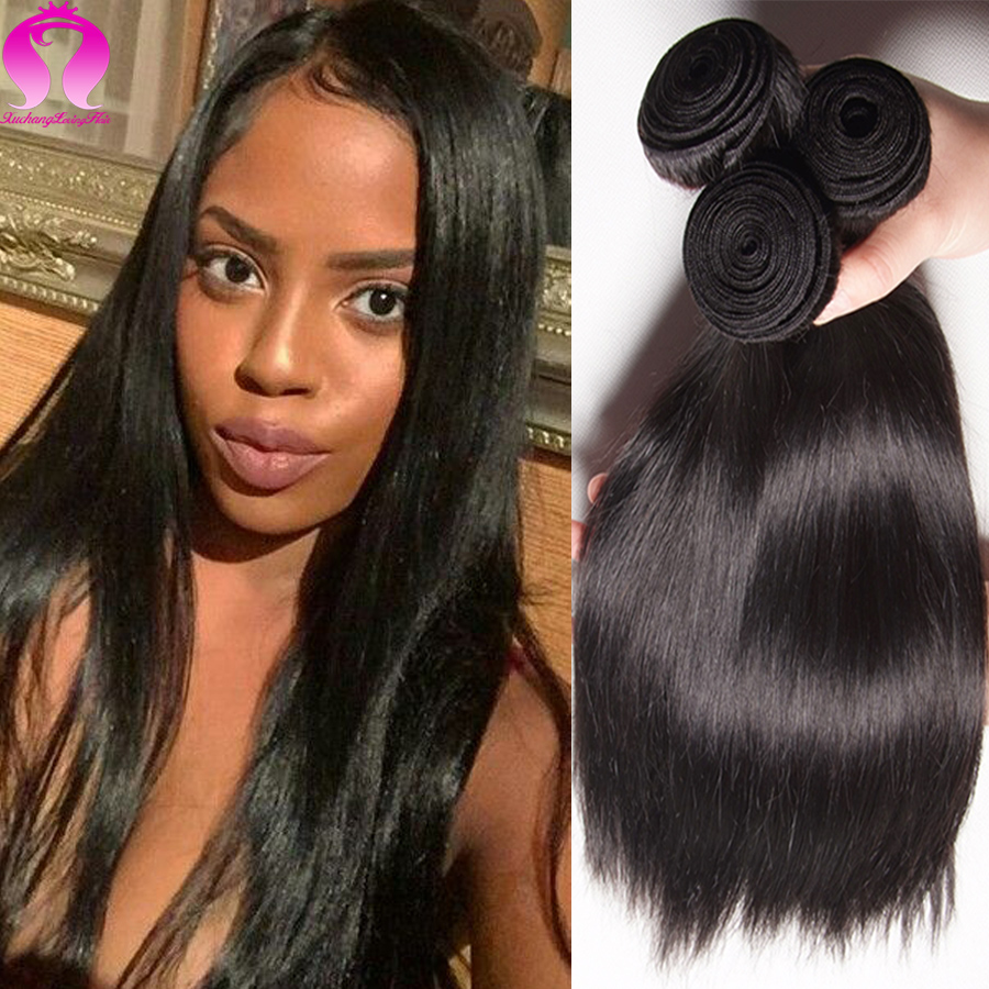 Straight hair perm products - Ali Brazilian Sraight Hair 4 Bundle Deals Grade 8a Brazilian Virgin Hair Straight Rosa Hair Products Straight Brazilian Hair