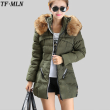 Parka Down Cotton Jacket 2017 Winter Jacket Women Thick Snow Wear Coat Lady Clothing Female Jackets Parkas Casaco Plus Size 4XL