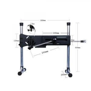 Image 3 - آلة جنسية HISMITH مع قضيب سيليكون كبير مجاني لآلة جنسية HISMITH kliclock للنساء قوة 120 واط آلات جنسية للبالغين