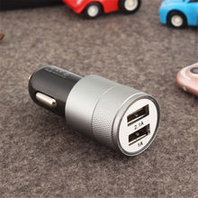 5 V 3.1A Mini Dual 2 Port USB Auto Ladegerät Adapter für Smart Mobile Handy schnell wirkende lade(China)