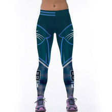 7e930fcdc1442 Adventure Time Fitness Women Sporting Uniforms Leggings American NFL  Sportswear Bodybuilding Pants 3D Printing Workout Pants