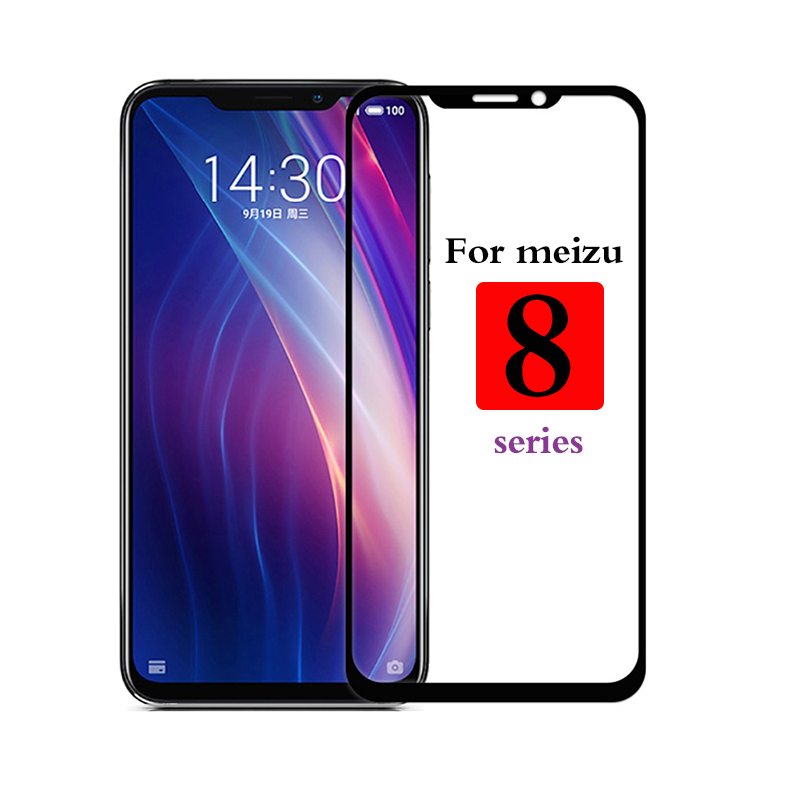 Protective Glass For Meizu M8 Note Note8 X8 V8 Pro Full Screen Tempered Glas Maisie X V M 8 8x 8v 8m Phone On The Film 9h 8note
