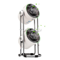 Household Air Circulation Fan Double head Electric Fan 220V Turbo Type Electric Fan TSK F8105