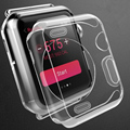 New TPU soft  Watch Case Cover For Apple Watch iWatch 1 generation 38mm 42mm Ultra Slim Protector Case Clear Transparent
