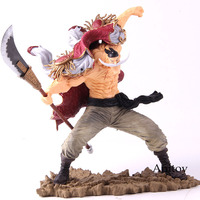 One Piece SC Edward Newgate Action Figure 20th Scultures The Tag Team Whitebeard PVC Collectible Model Toy One Piece Decoration