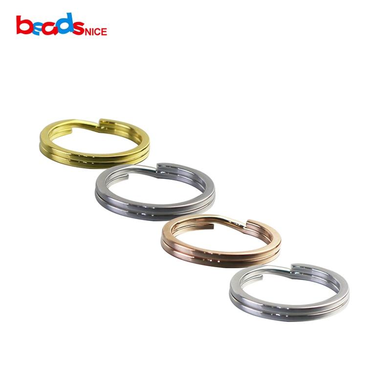 925 Sterling Silber Split Key Ring Einstellung Personalisierte Handmake Schlüsselring Für Ihn Id 27446 27445 27440 HüBsch Und Bunt