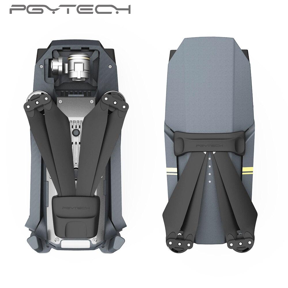 PGYTECH 2 Dollar de descuento nuevas hélices de Clip de silicona soporte de Motor fijador de protección fija para accesorios DJI Mavic Pro (negro)