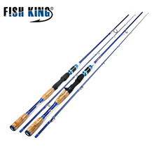 Sale KING KING Telescopic lure  1.8M To 2.1M Fishing Rods Spinning/Casting Fishing Tackle All Fishing Lure For Fishing