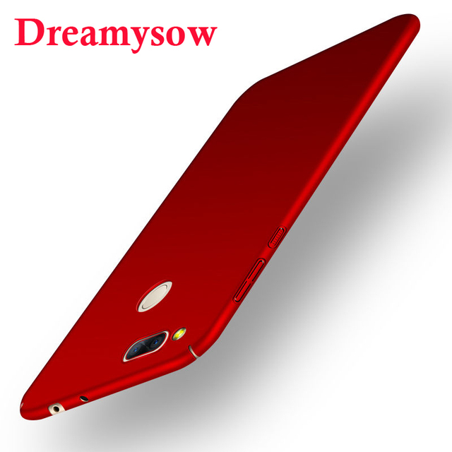 Dreamysow Color caramelo duro mate Pc de cuerpo completo de la cubierta del teléfono del caso para ZTE Nubia Z11 Z17 Mini S Z17S miniS atrás casos Capa