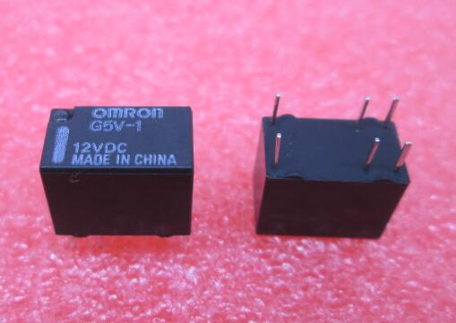 цена на HOT NEW relay G5V-1-12VDC G5V-1 12VDC G5V1 G5V 12vdc 12V DC12V OMRON DIP6