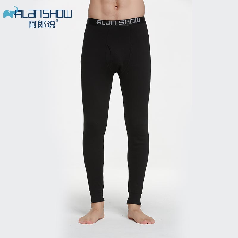 2019 Men's Thermal Long Johns Men Cotton Winter Warm Underwear Pants Brand Male  Autumn Winter Clothing