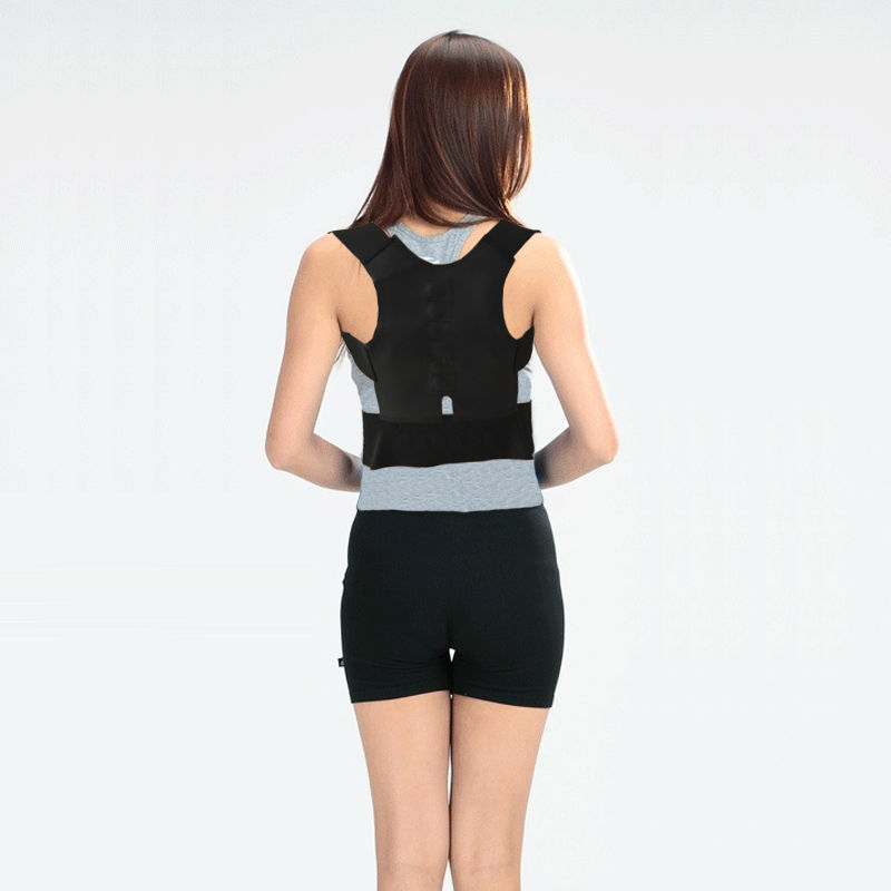 Back Shoulder Posture Corrector Back Straighten Brace Belt Orthopedic Gift for Men Women Students Children Adjustable AFT-B001