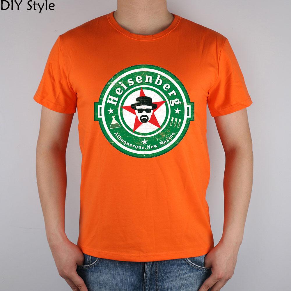 3cf25035f4109 Heisenberg Breaking Bad poison mortel professeur vert T-shirt Top Lycra  Coton Hommes t-shirt