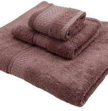 3 Pieces Set 100% Cotton Handkerchief+Face Cloth+Bath Towels Family Terry Bathroom Gift Bath Towel Sets 17 Colors