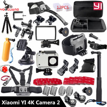Yoocuang pour xiaomi yi 4 k accessoires selfie octopus trépied pour xiaomi yi 4 k yi2 action international d'action caméra y27
