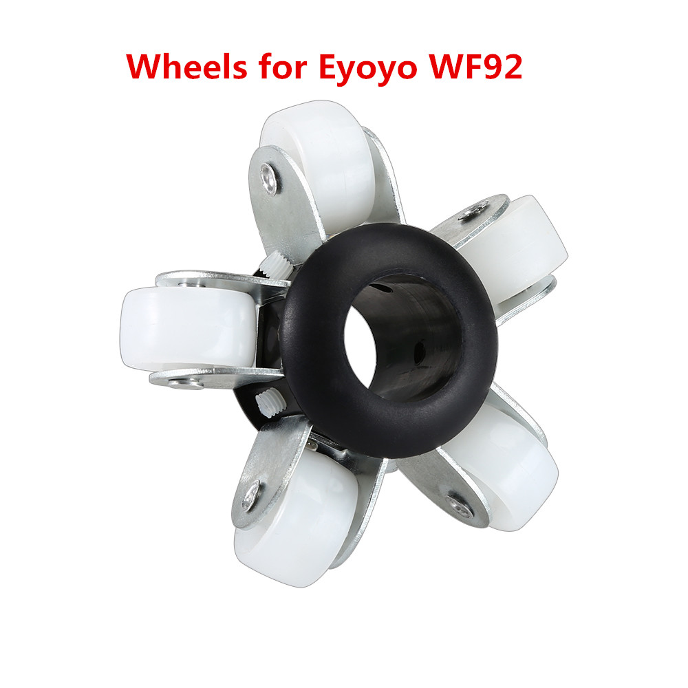 Eyoyo WF92 23mm Wheels For Pipe Sewer Pipeline Inspection Camera dhl free wp90 50m industrial pipeline endoscope 6 5 17 23mm snake video camera 9 lcd sewer drain pipe inspection camera system