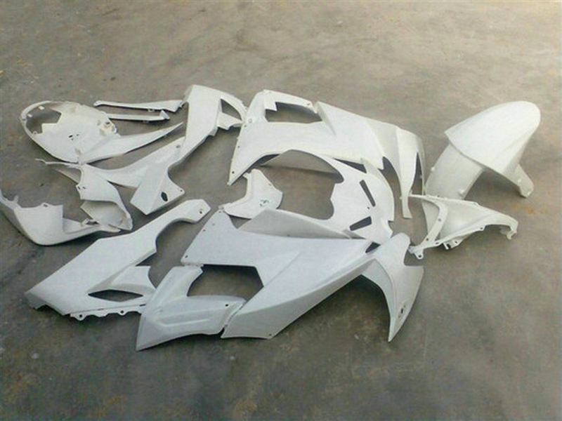 Free gifts Motorcycle ABS factory fairing sets for 2008 2009 2010 Kawasaki ZX10R full white body Fairings Ninja ZX-10R 08 09 10
